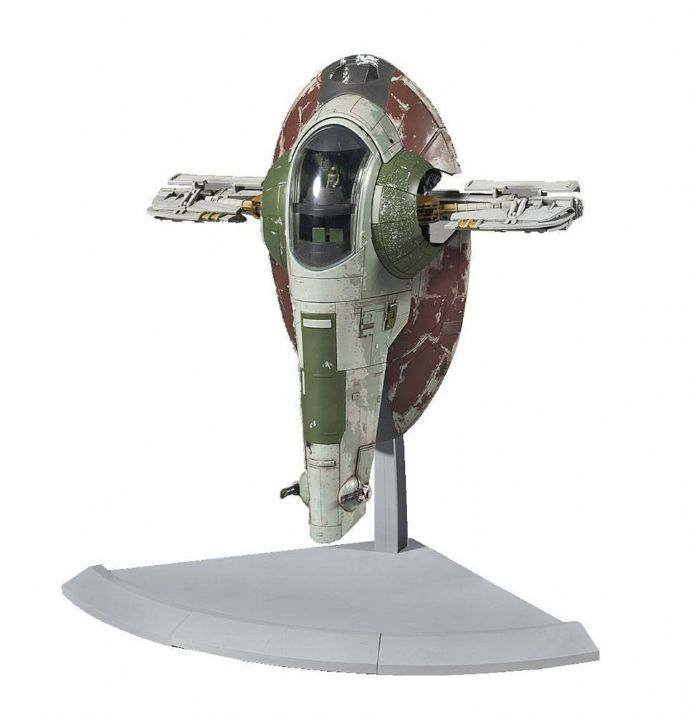 Star Wars Bandai Plastic Model Kit 1/144 Slave I | Buy now at The G33Kery - UK Stock - Fast Delivery